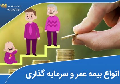 انواع بیمه عمر و سرمایه گذاری